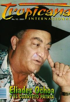 Portada de Tropicana Internacional. No.12-2001