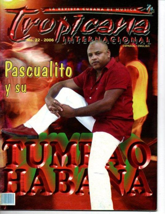 Portada de Tropicana Internacional. No.22-2006