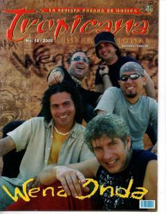 Portada de Tropicana Internacional. No.19-2005